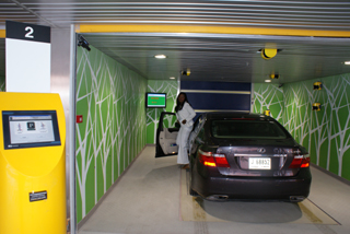 Robotic Parking Entry Station