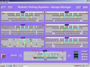 Robotic Parking Garage Manager