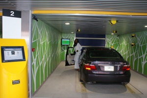 Robotic Parking Systems Entry / Exit Terminal