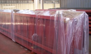Robotic Parking Systems - Machinery Prepared for Shipment