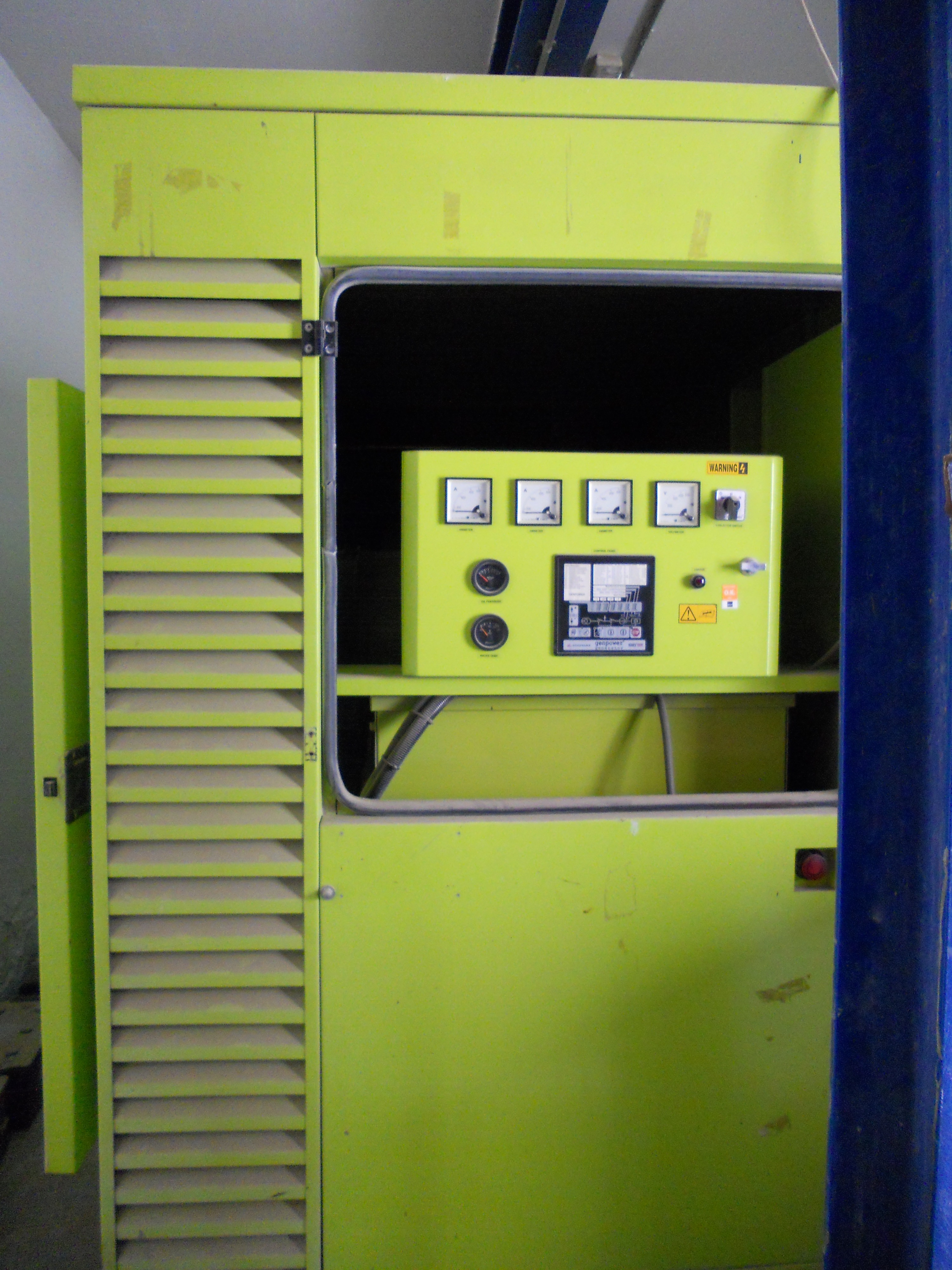 Diesel Generator Room Design: Manufacturing And Installing A Robotic Parking System