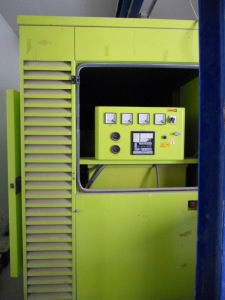 Robotic Parking Systems Emergency Diesel Generator