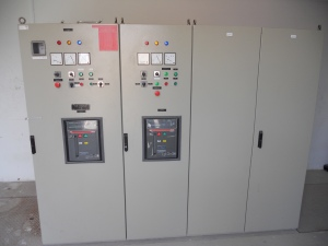 Robotic Parking Systems Electrical Room