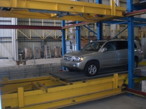 Robotic Parking Systems - Testing Machinery