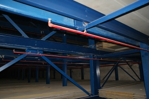 Robotic Parking Systems Sprinklers