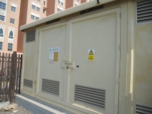 Electrical Substation for Robotic Parking Systems