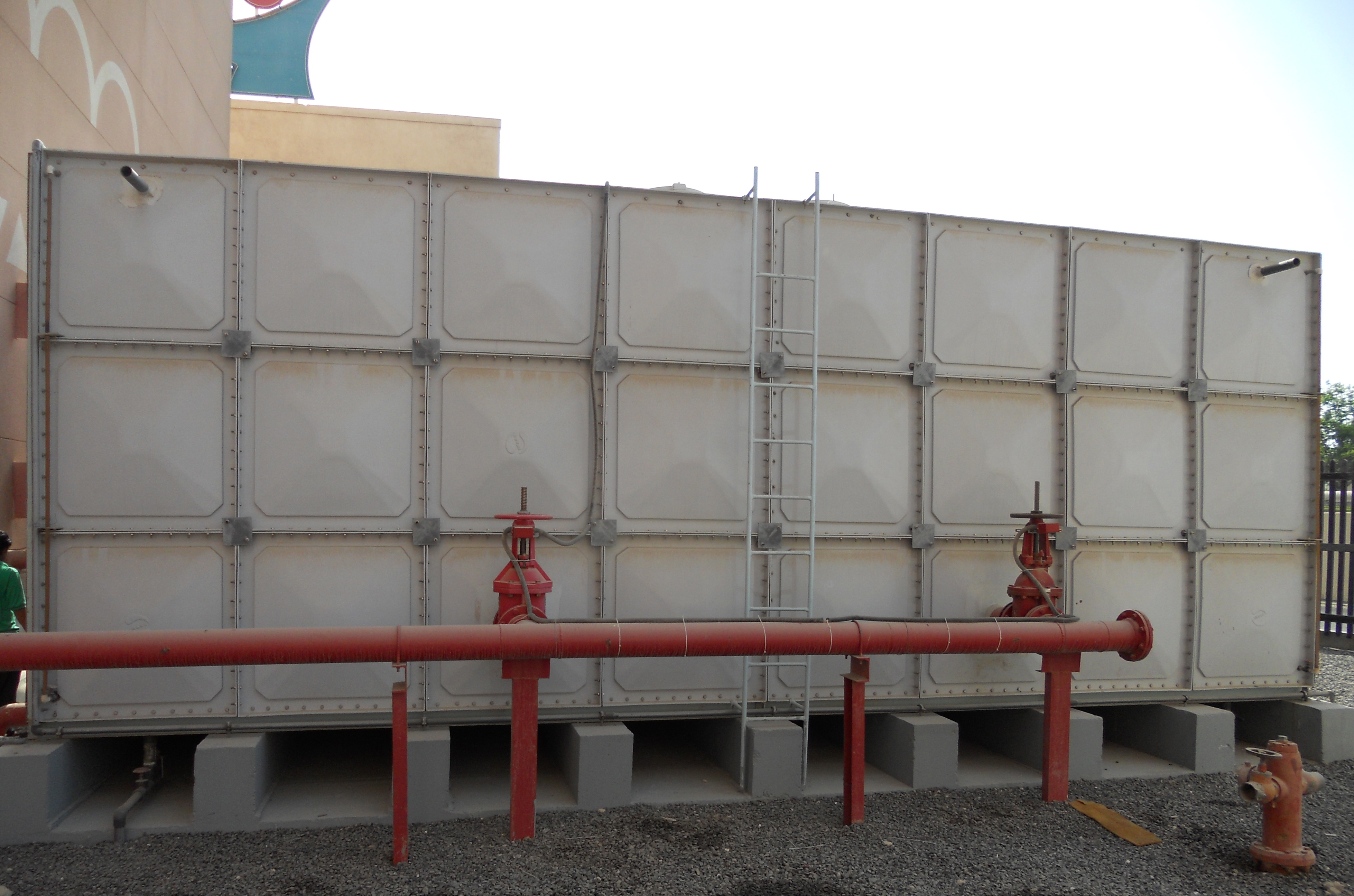 Water Tank Irrigation System : Fire protection park it here