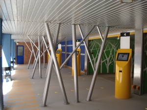 Robotic Parking Systems - Entry / Exit Terminal Kiosks