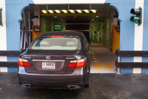Robotic Parking Systems Entry / Exit Bay