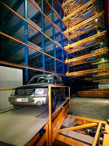 Robotic Parking Systems in Dubai