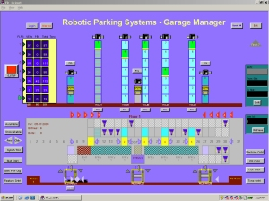 Robotic Parking Systems Software