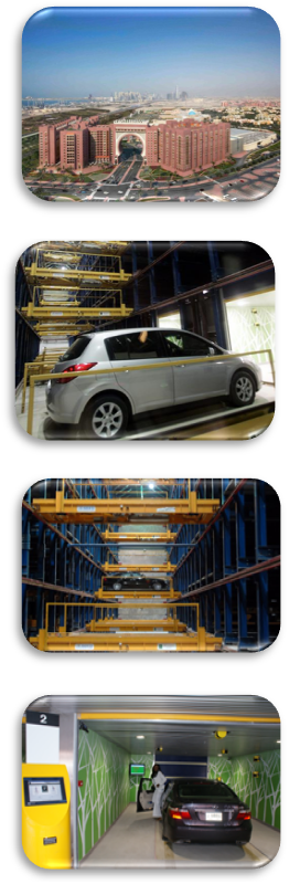 Robotic Parking Systems - Ibn Battuta Gate, Dubai, UAE