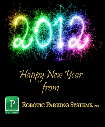 Happy New Year from Robotic Parking Systems