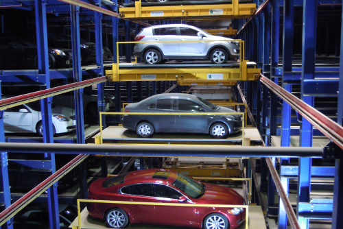 robotic parking electromechanical machinery