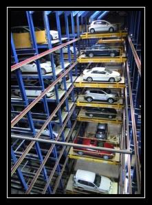 Robotic Parking in Dubai.