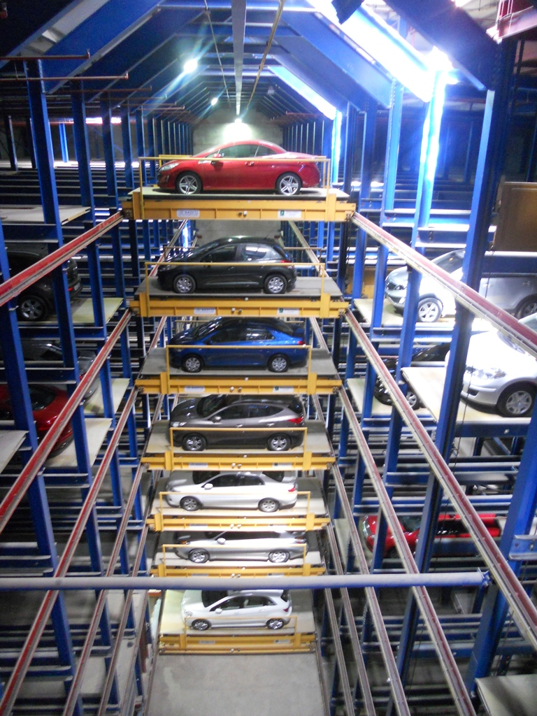 Automatic Car Garage : Nfpa park it here