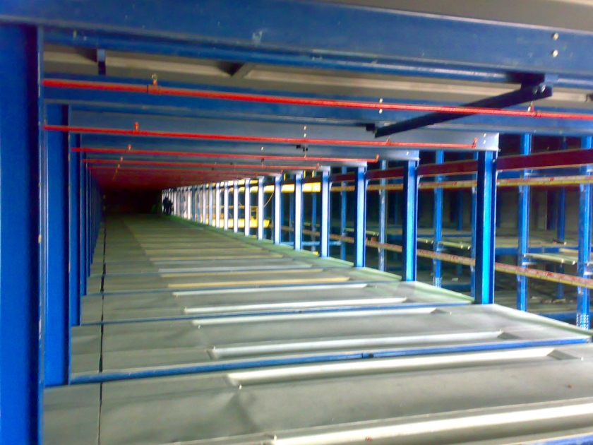 Robotic Parking Systems - NFPA 88A - Sprinklers