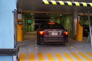 Robotic Parking System Entry / Exit Terminal - Lighting Requirements in Daylight