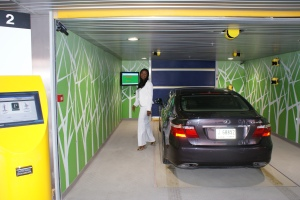 Robotic Parking Systems offers well-lit, secure entry / exit terminals.