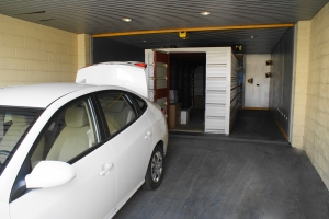 Robotic Parking Systems Containers - Loading and Unloading