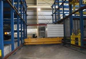 Robotic Parking Systems - Parking and Container Storage Interchangeable