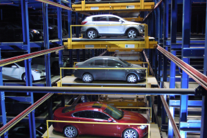 Robotic Parking Systems are 100% secure from access by others.