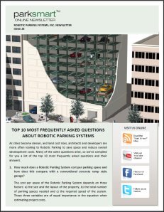 Robotic Parking Systems - ParkSmart Issue 28