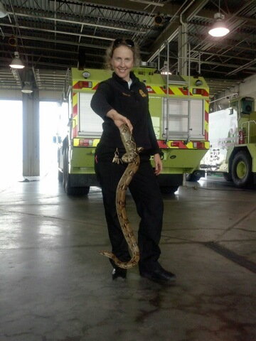 Photo: Lt Natalie Brown, TFR