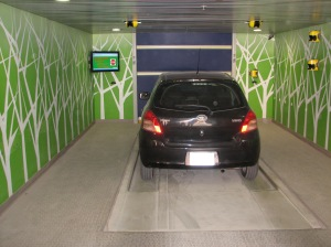 Robotic Parking Systems Sensors in Entry / Exit Stations