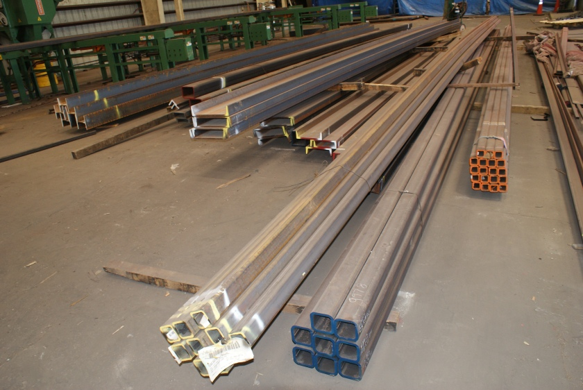Steel for Robotic Parking System machines.