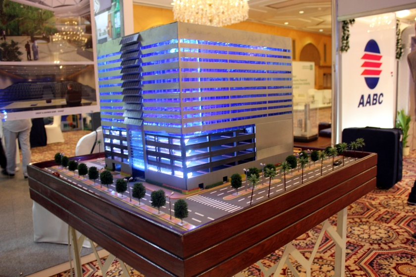 Architectural Model of Robotic Parking Systems at Al Jahra Kuwait