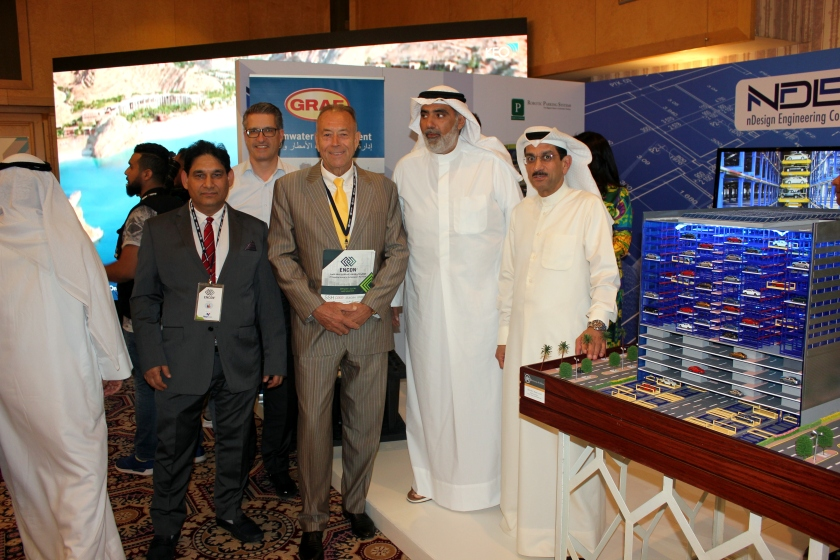 Robotic Parking Systems at ENCON2 in Kuwait