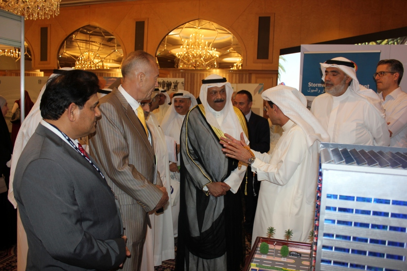 Robotic Parking Systems at ENCON2 in Kuwait. The event was under the partonage of His Excellency Sheikh Nasser Sabah Al-Ahmad Al-Sabah, First Deputy Prime Minister.